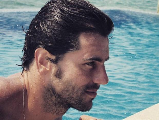 Zinho Alves, marido de Talula Pascoli, nas Ilhas Maldivas (Foto: Reprodução/Instagram)