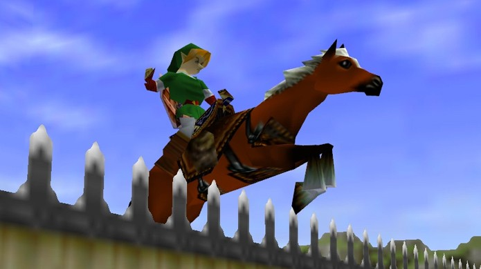 The Legend of Zelda: Ocarina of Time do Nintendo 64 era um jogo que todos queriam ter e matavam a vontade em locadoras (Foto: Reprodução/Zeldapedia)