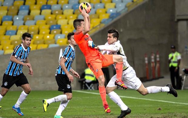 Wagner jogo Fluminense e Grêmio (Foto: Agência Estado)