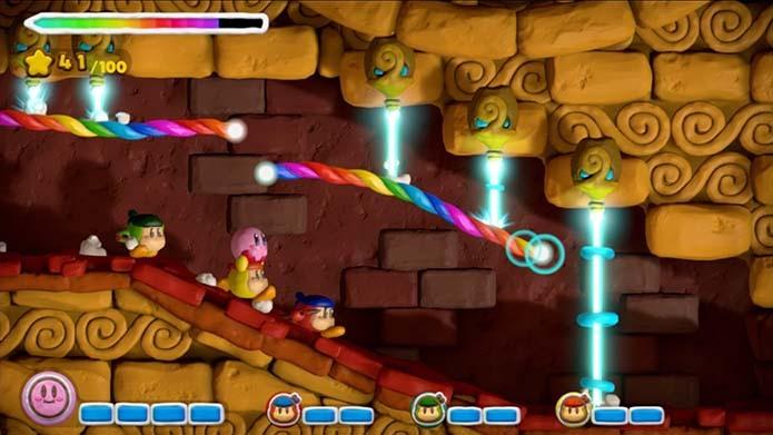 Kirby and the Rainbow Curse (Foto: Divulgação)