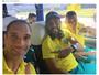 """Braço quebrado? Prass posta foto no ônibus do Palmeiras: """"Firme e forte"""""""
