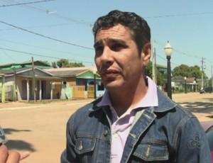 Nilton Nery, técnico do Plácido de Castro (Foto: Reprodução/TV Acrelândia)