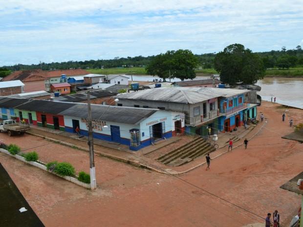 Porto Walter, interior do Acre  (Foto: Genival Moura/G1)