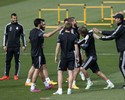Coentrão é recusado em duas rodas de bobo no treino do Real Madrid