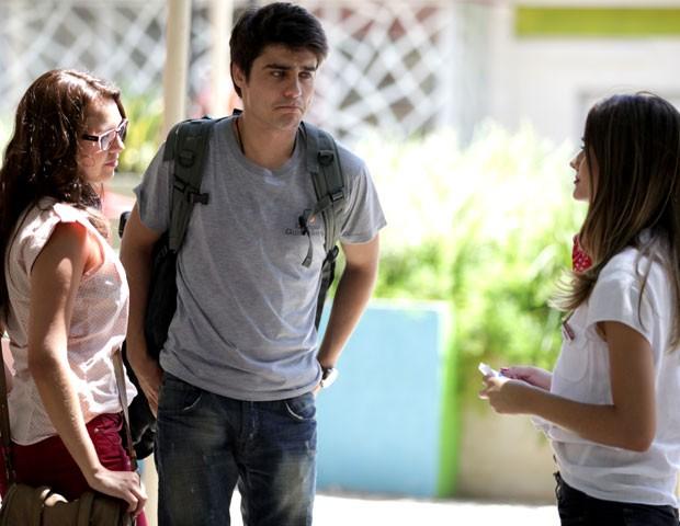 Que cara é essa, Vitor? hehehe (Foto: Malhação / TV Globo)