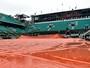 Chuva castiga Paris, e Roland Garros terá dia sem jogos após 16 anos