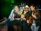 Ana Paula Minerato grava clipe da dupla Bruno Nassy e Thiago