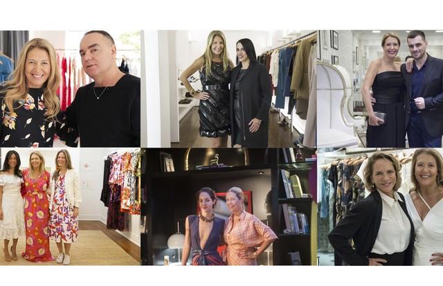 Donata Meirelles e os momentos marcantes com os estilistas entrevistados (Foto: Divulgação)