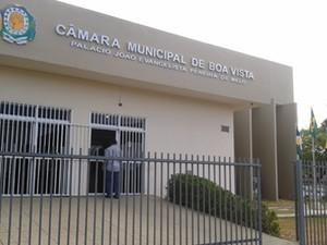 Câmara Municipal de Boa Vista (Foto: Emmily Melo/G1)