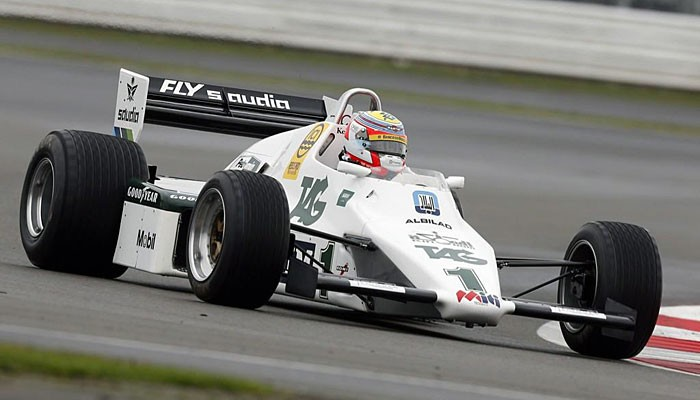 Williams Keke Rosberg Felipe Nasr Silverstone