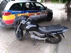 Adolescente é apreendido com moto roubada em Governador Valadares