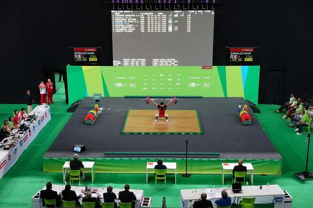 Levantamento de peso: Brasil terá cinco atletas (Foto: Getty Images)