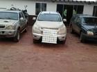 Operação da polícia recupera oito veículos roubados no interior do PR