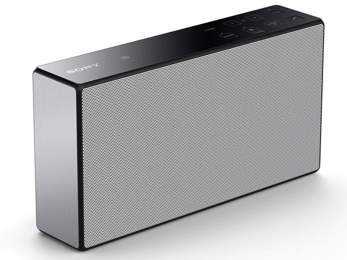 Caixa de som portáti da Sony possui 8h de bateria (Foto: Divulgação/Sony)