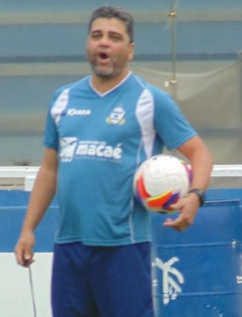 Marcelo Cabo, macaé (Foto: Juan Andrade/ GloboEsporte.com)