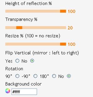 picreflect interface
