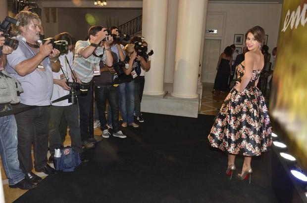 Bruna Marquezine na festa de lançamento da novela Em Família (Foto: Roberto Teixeira / EGO)
