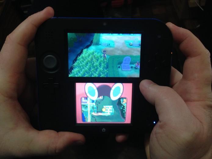Exemplo de Soft Reset do 3DS (Foto: Reprodução/Felipe Vinha)