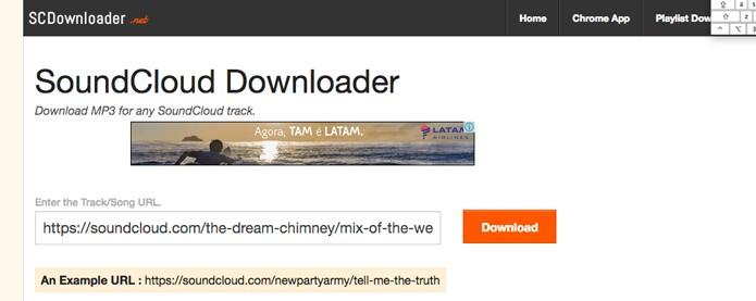 Com extensão para Google Chrome e possibilidade de baixar playlists (Foto: Reprodução/André Sugai)