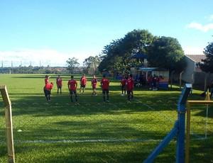 Paraná Clube treino Londrina PSTC (Foto: Eduardo Luis / 98FM Curitiba)