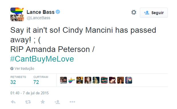 Lance Bass (Foto: Reprodução)