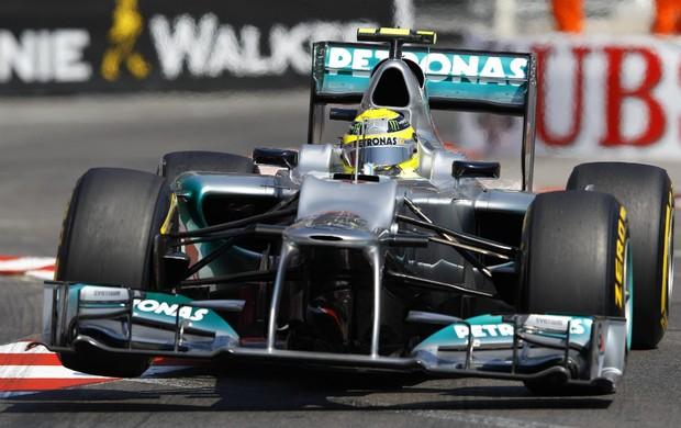 Nico Rosberg, treino GP de Mônaco (Foto: Reuters)