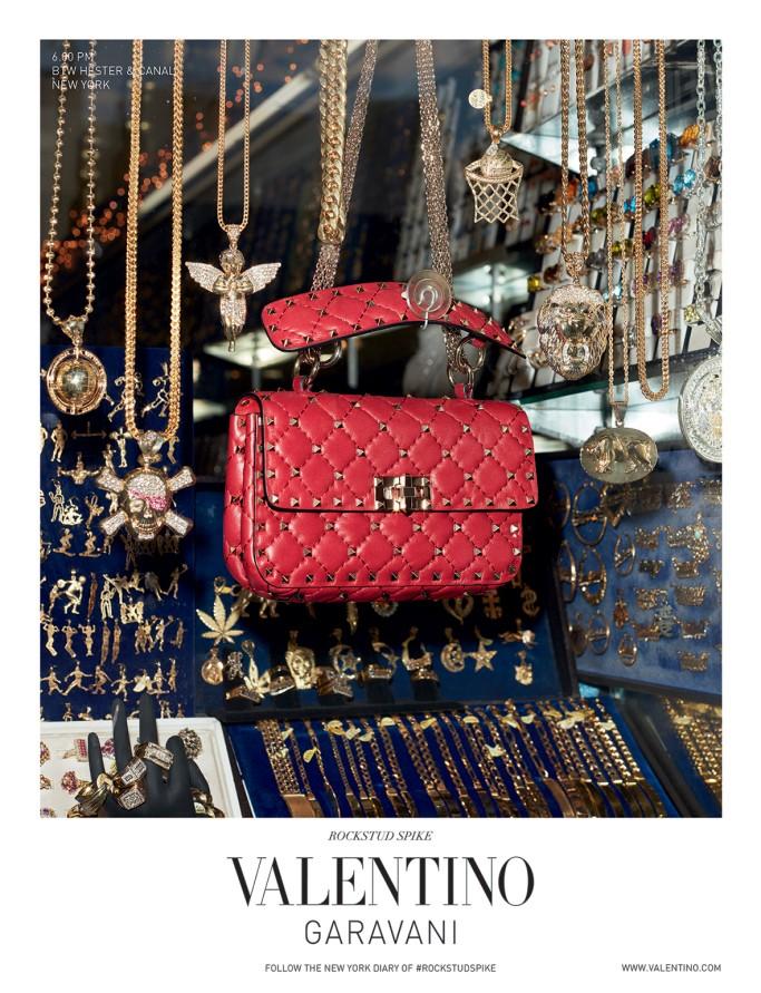 A 1ª campanha da Valentino sob o comando solo de Pierpaolo Piccioli (Foto: Reprodução)