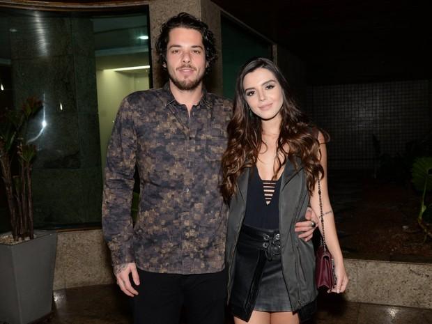Gian Luca Ewbank e Giovanna Lancellotti em festa na Zona Oeste do Rio (Foto: Leo Marinho/ Brazil News)