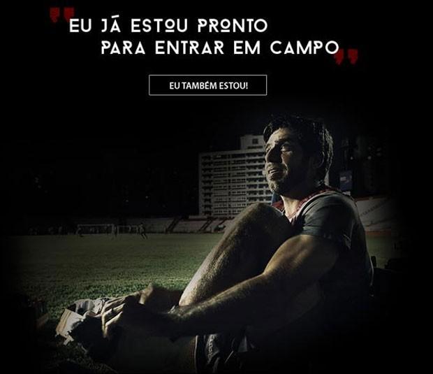 Campanha Vasco  (Foto: Site Oficial  / Vasco)