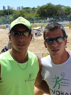 Ramon Ferrei (esquerda) é o atual campão brasileiro da categoria sub-23 (Foto: Náyra Macêdo/GLOBOESPORTE.COM)