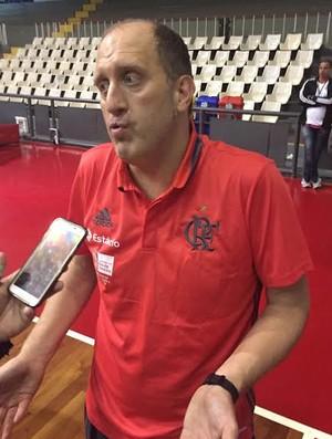 Alexandre Póvoa Flamengo x Vasco basquete (Foto: Flávio Dilascio)