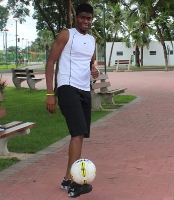 """Cristian Silva, irmão de Anderson """"Spider"""" Silva (Foto: Abdias Bideh/GloboEsporte.com)"""