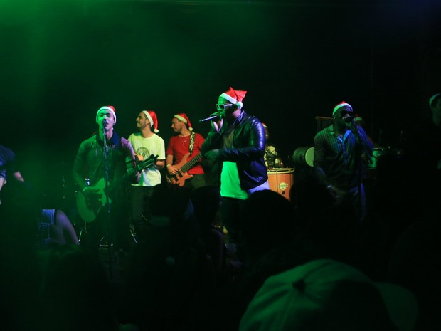 Banda Di Propósito em edição do Festival Anual Natalino de Samba de 2014 (Foto: Divulgação)