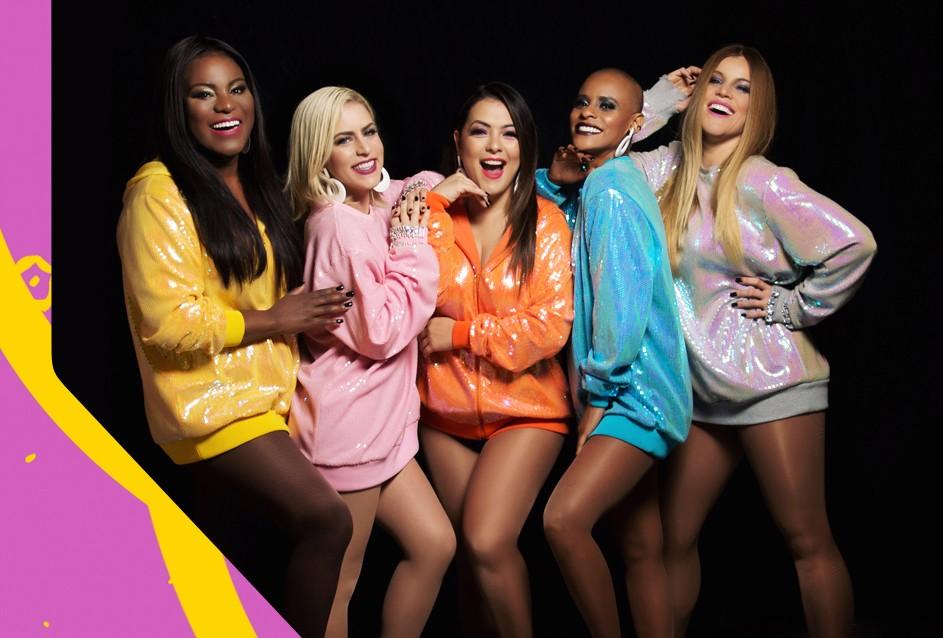 As meninas do Rouge comandam o TVZ Ao Vivo nesta quarta  (Foto: Divulgao/Multishow)