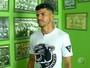 Artilheiro do Campeonato Potiguar, Léo Bahia elege gols mais bonitos