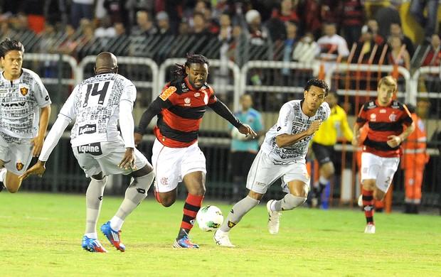 Vagner Love, Flamengo x Sport (Foto: Alexandre Vidal / Fla Imagem)
