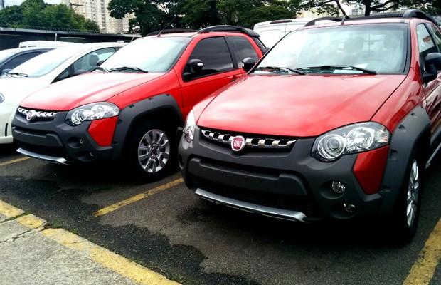 Fiat Strada está em falta nas lojas (Foto: Alexandre Izo)