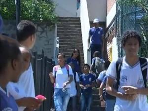 Escolas públicas em Salvador, na Bahia (Foto: Reprodução/TV Bahia)