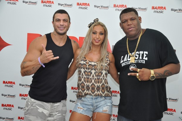 Valesca Popozuda e Bambam (Foto: Bruno Henrique/Barra Music)