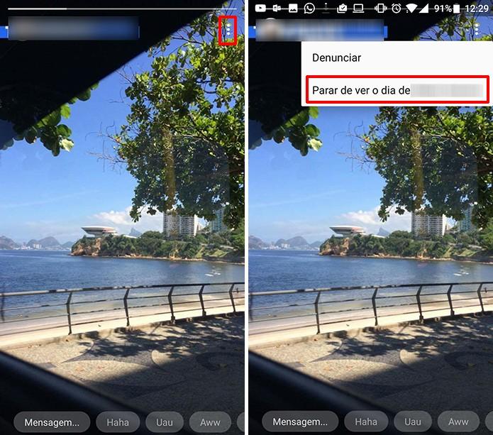 Messenger para Android tem método alternativo para silenciar histórias (Foto: Reprodução/Elson de Souza)