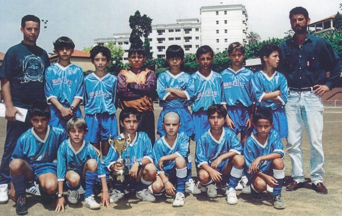 Cristiano Ronaldo CR7 no time do Andorinha (Foto: Arquivo Pessoal)