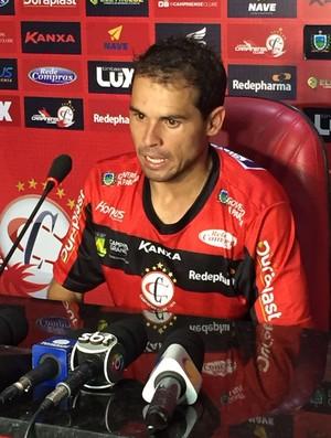 Doda, meia do Campinense (Foto: Silas Batista / GloboEsporte.com)