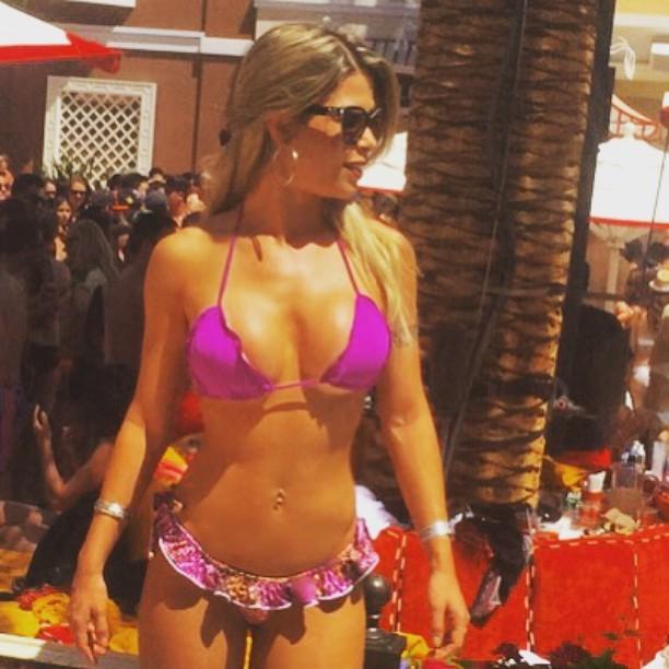 Ex-BBB Cacau em festa em Las Vegas, nos Estados Unidos (Foto: Instagram/ Reprodução)