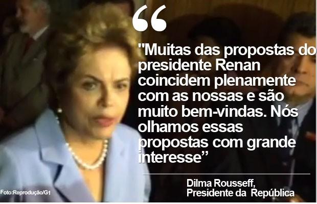 Selo Câmara e Senado (Dilma, 11-8) Declaração (Foto: Reprodução)