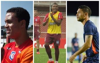 Macaé anuncia trio do Friburguense  e mais dois reforços para a Série C
