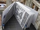 Maior livro de fotografias do mundo é exibido na Alemanha