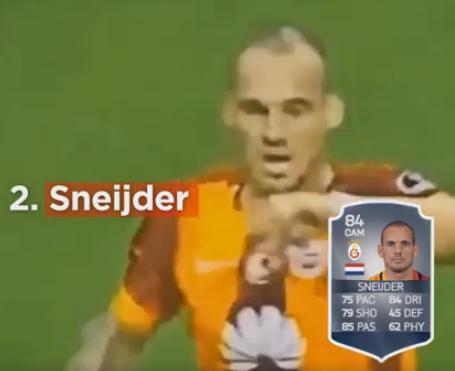 Sneijder no Fifa
