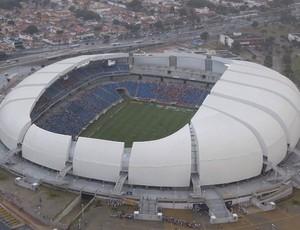 Foto aérea da Arena das Dunas (Foto: Canindé Soares)