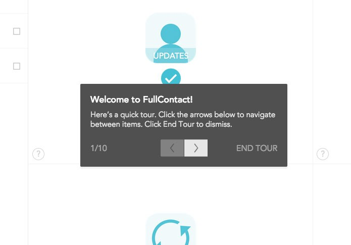 Tour guiada dentro do Full Contact (Foto: Reprodução/André Sugai)