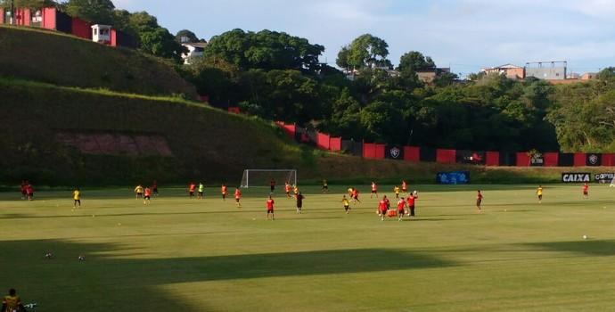 Vitória treino na Toca do Leão (Foto: Rafael Santana)